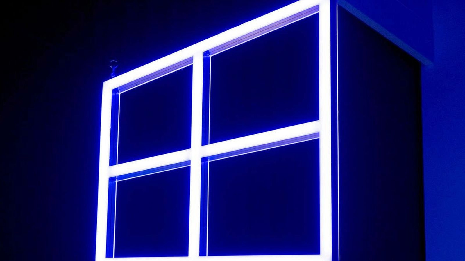 windows 10 logo azul