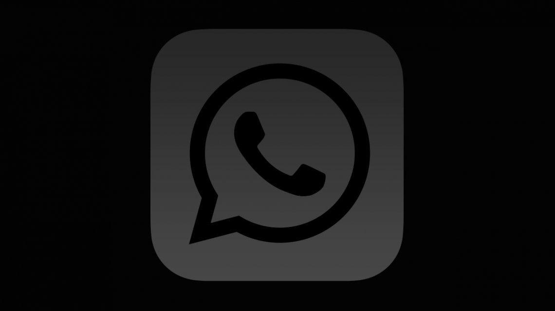 whatsapp escuro