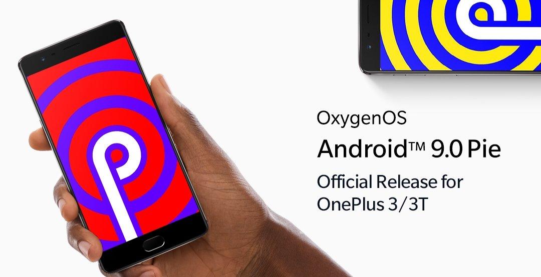 OnePlus android pie atualização
