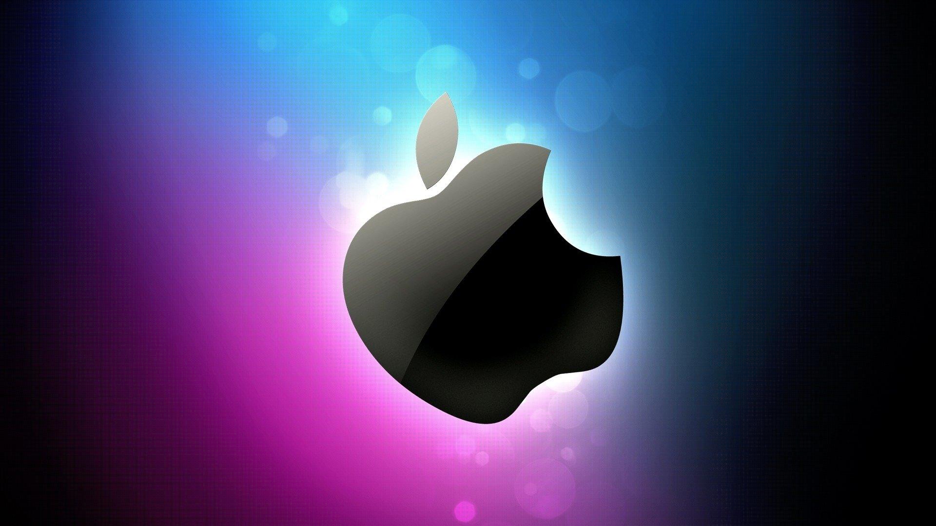 logo da apple colorido