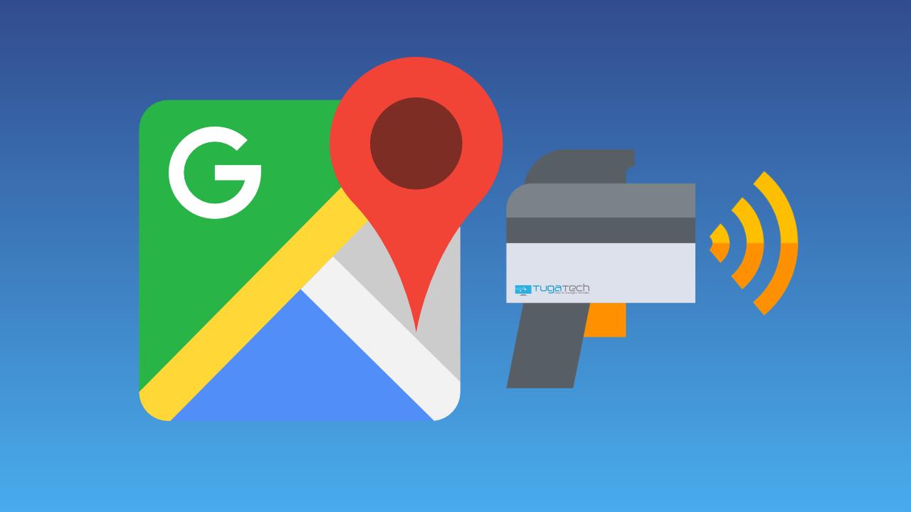 Google Maps com radar