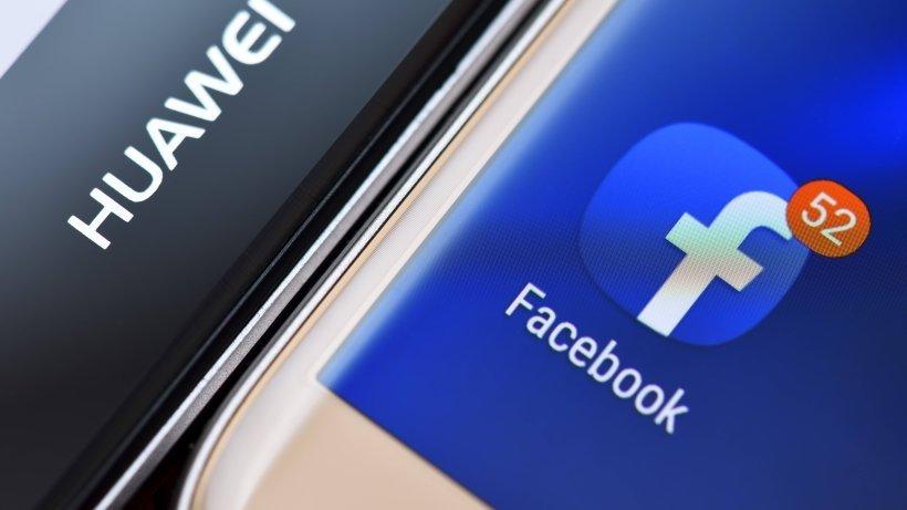 Huawei e facebook