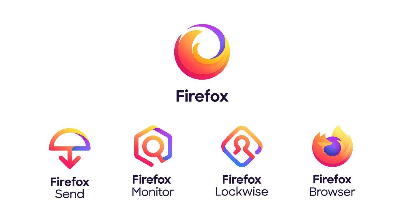 novos Ícones do firefox