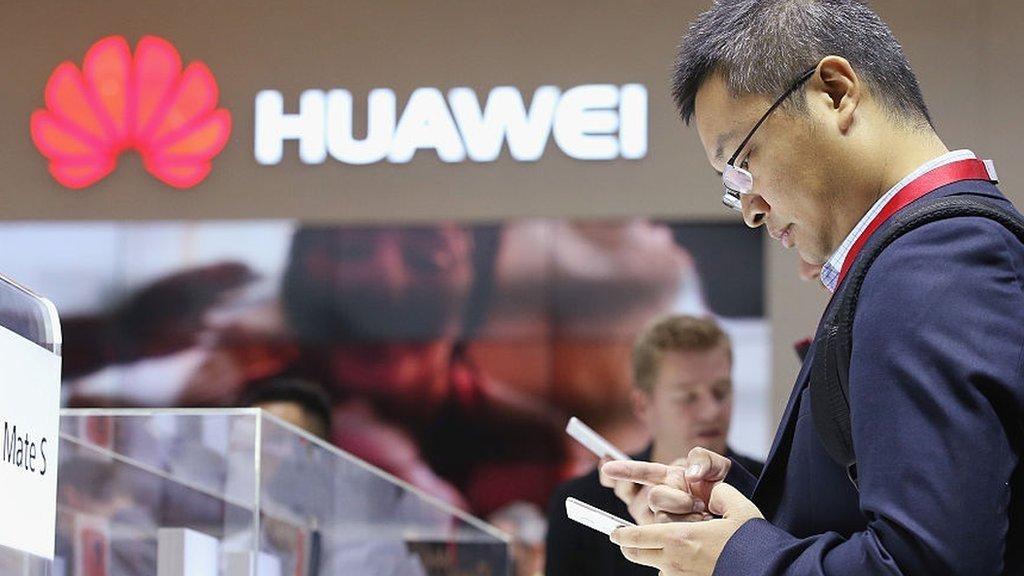 huawei smartphone em loja