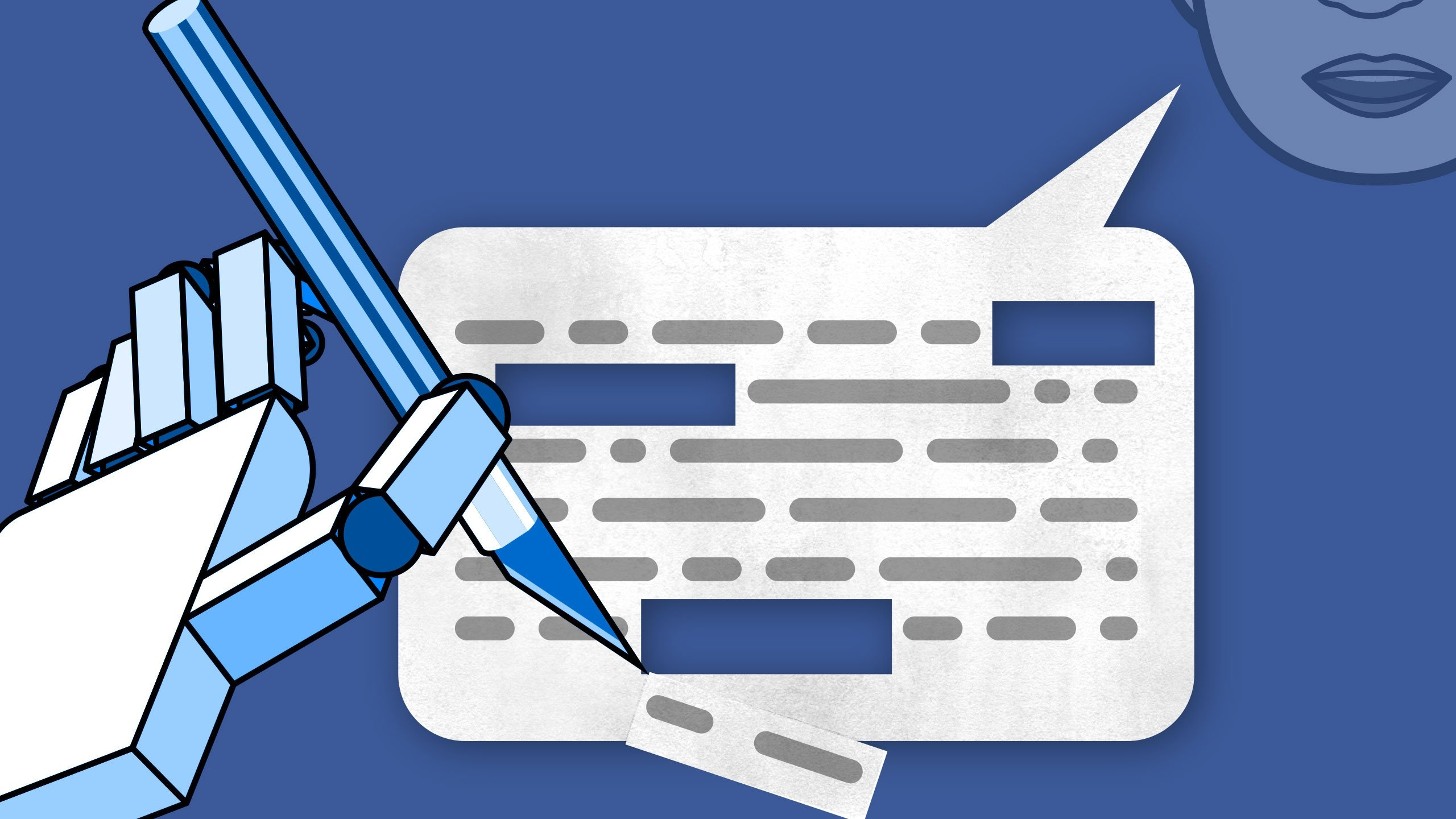 facebook texto