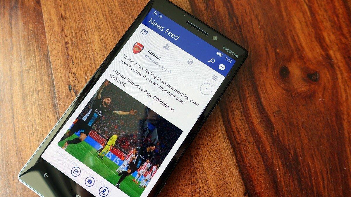 Facebook no Windows Phone