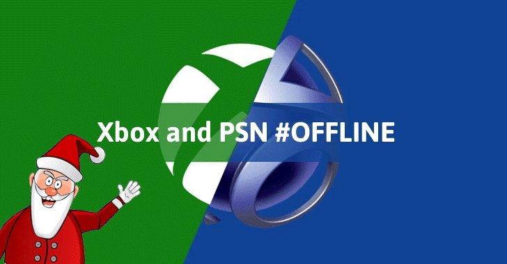 PSN e Xbox Live offline ataques natal