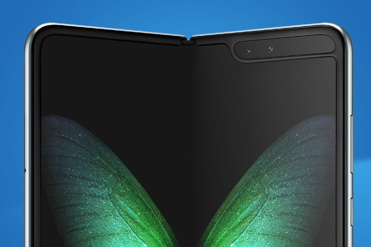 Samsung galaxy fold imagem promocional