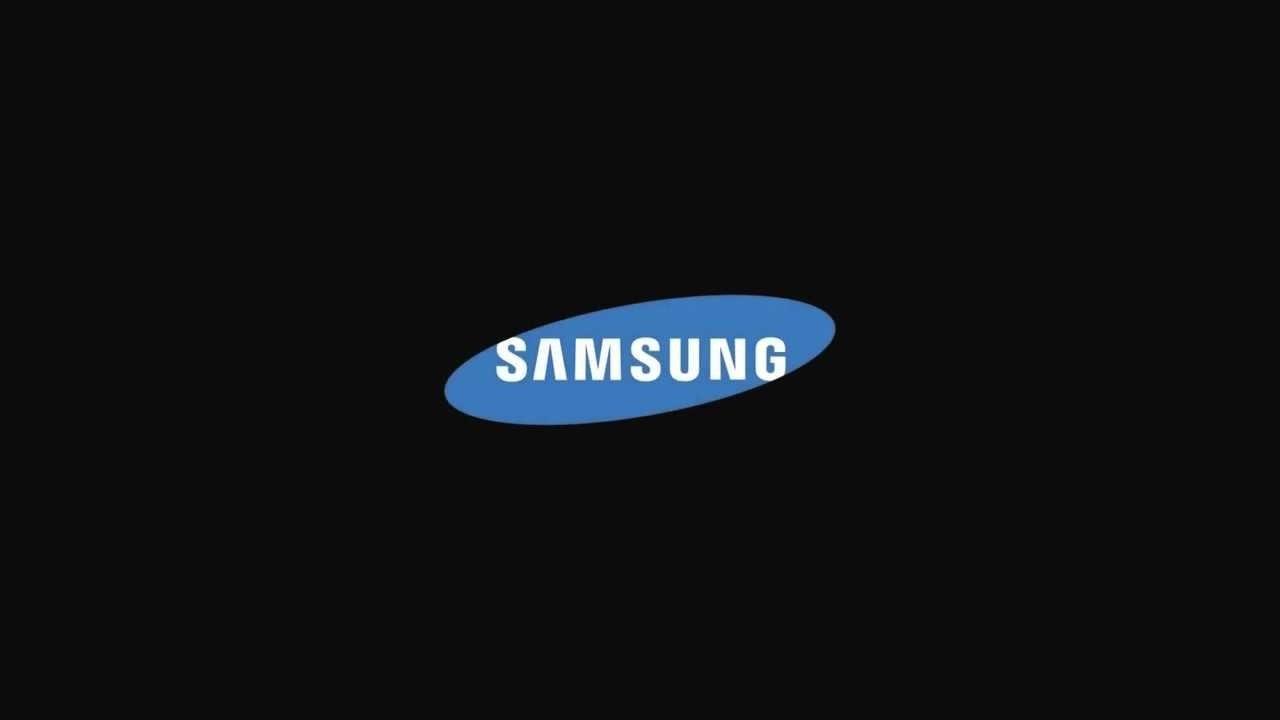 samsung logo escuro