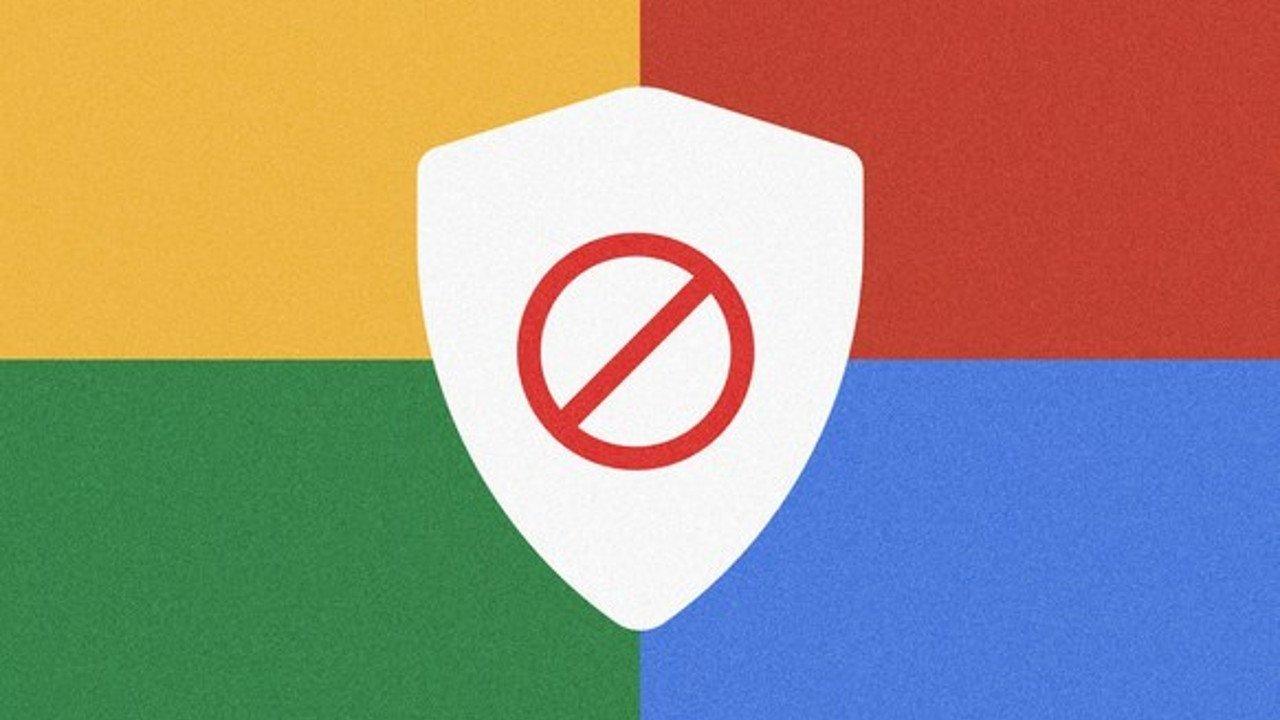 google chrome publicidade bloqueada