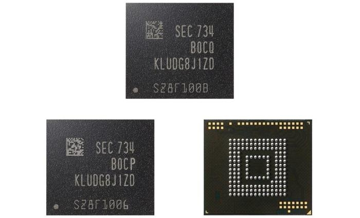 chips de memória flash