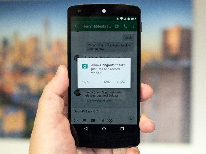 permissões do WhatsApp no android