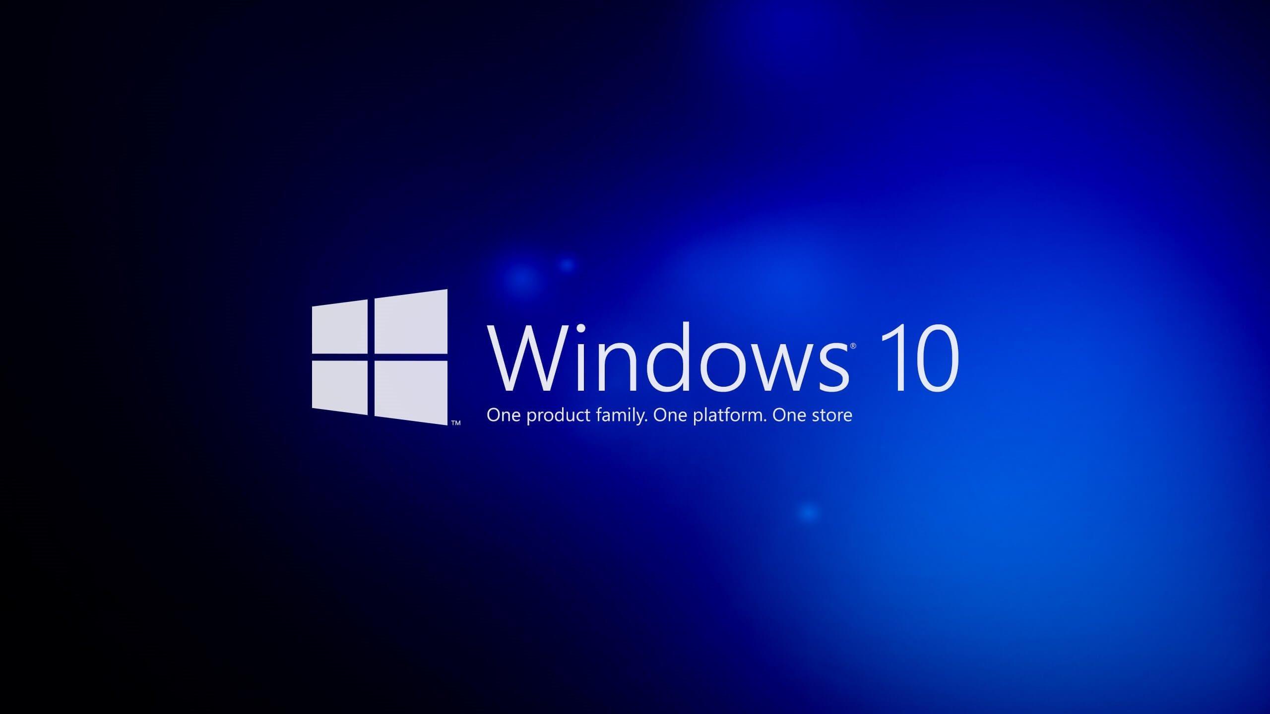 Windows 10 logo azul