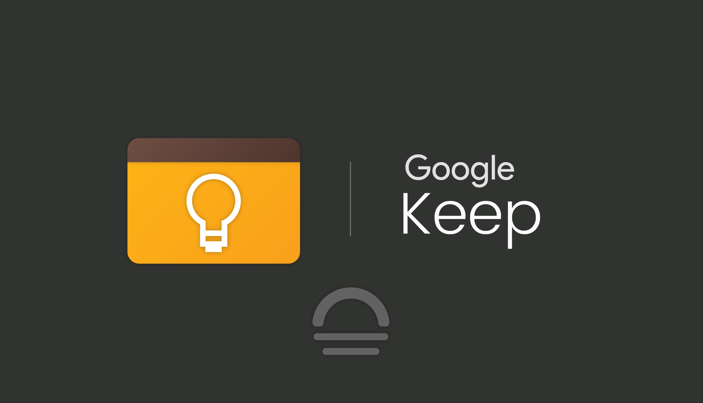 google keep ícone dark