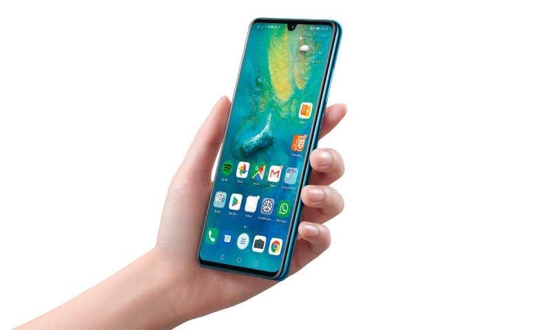 dispositivo da Huawei