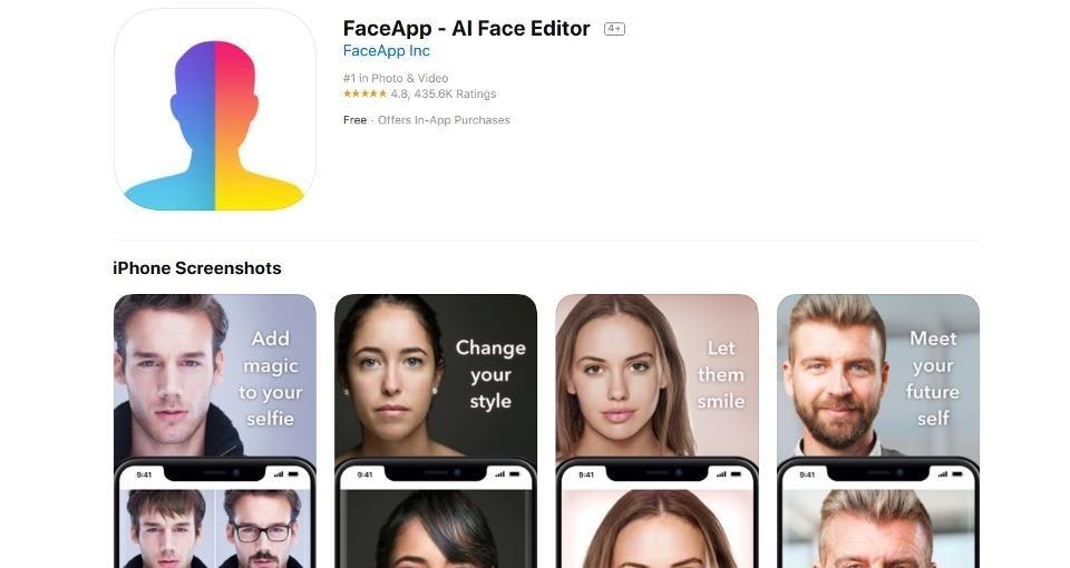 faceapp app store