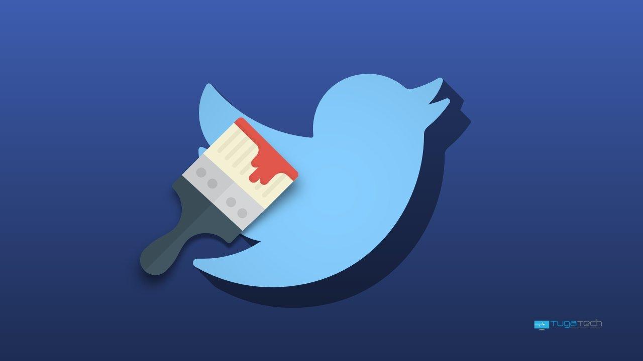 Twitter tema