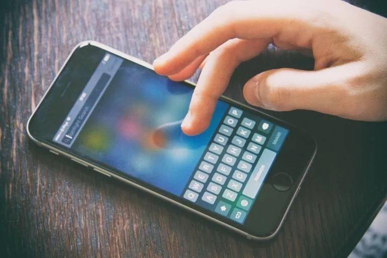 smartphone teclado