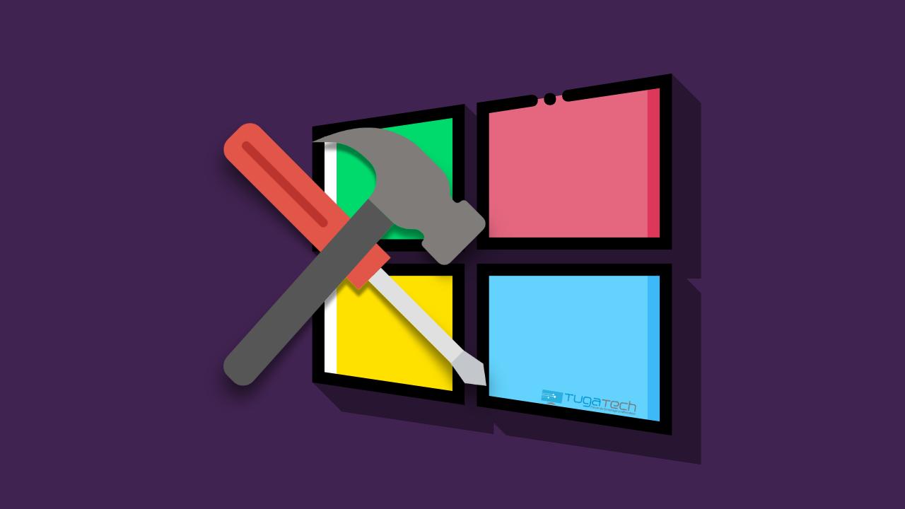 windows reparação
