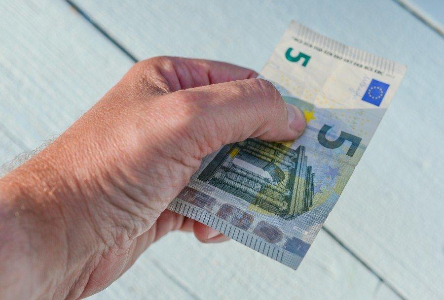 pagamento 5 euros