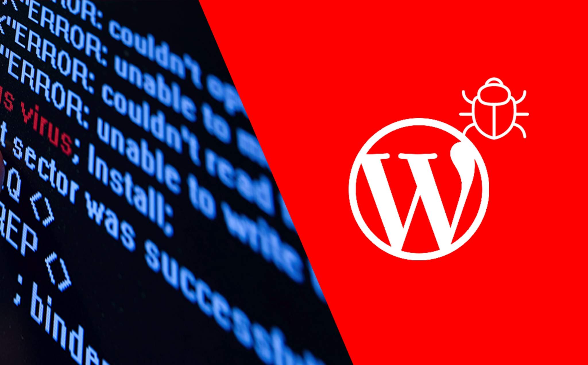 falha wordpress