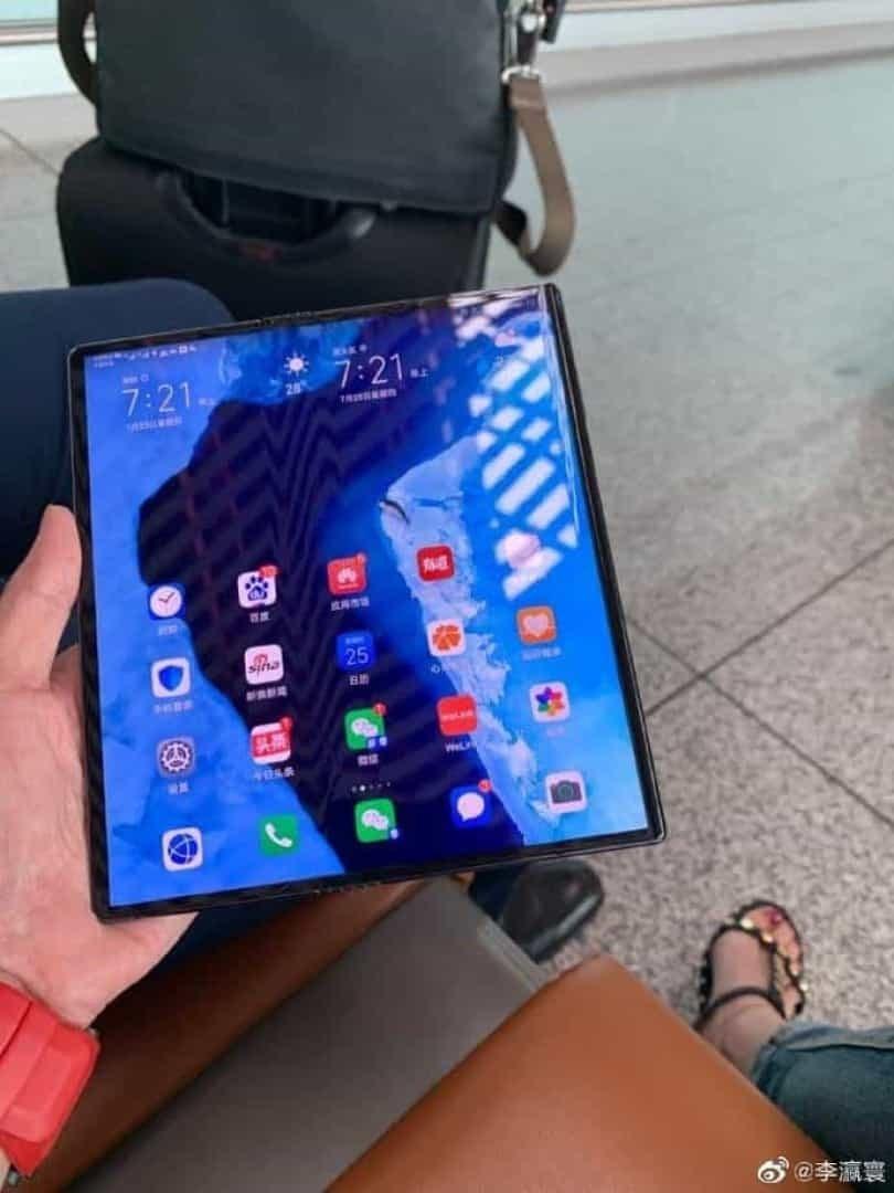 imagem uso público mate x Huawei