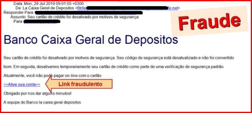 email suspeito
