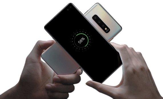 carregamento sem fios da Samsung