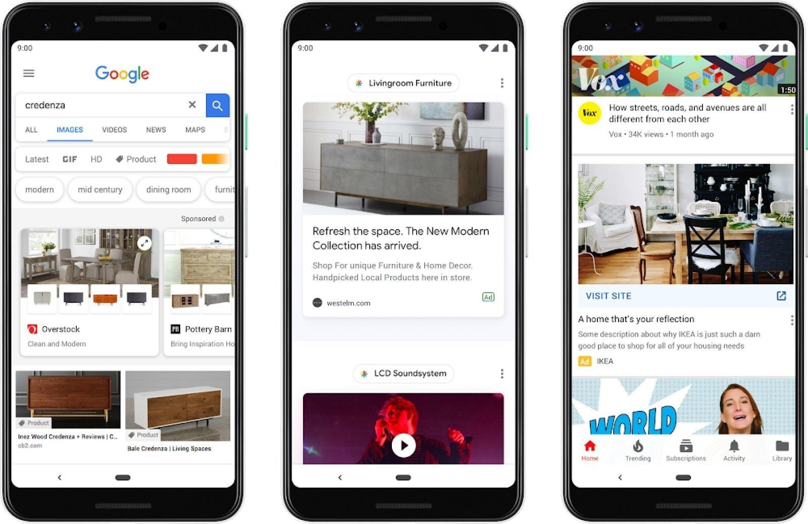 Google discovery publicidade