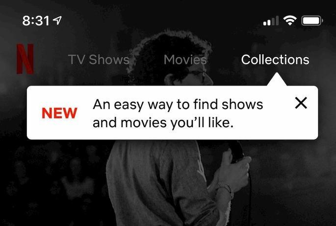 Netflix recomendações