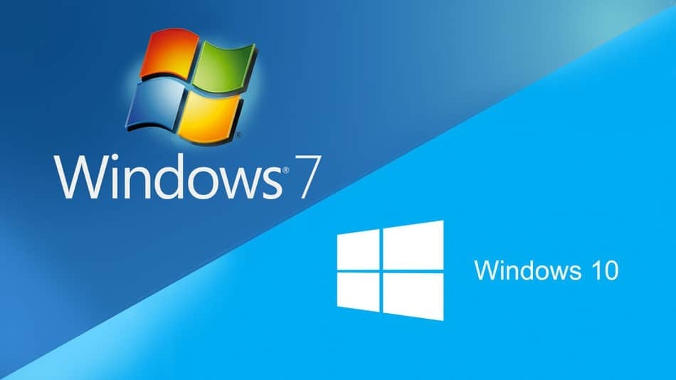 Windows 7 e windows 10