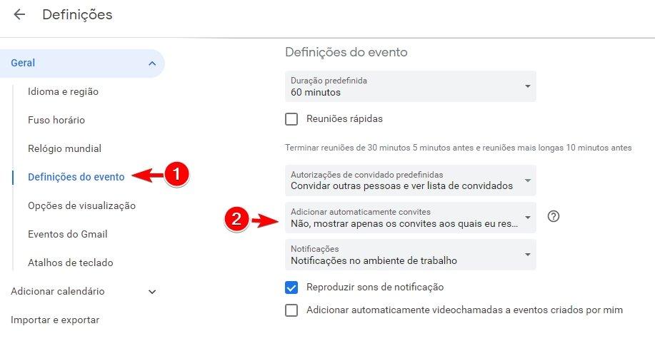 calendario google eventos convites