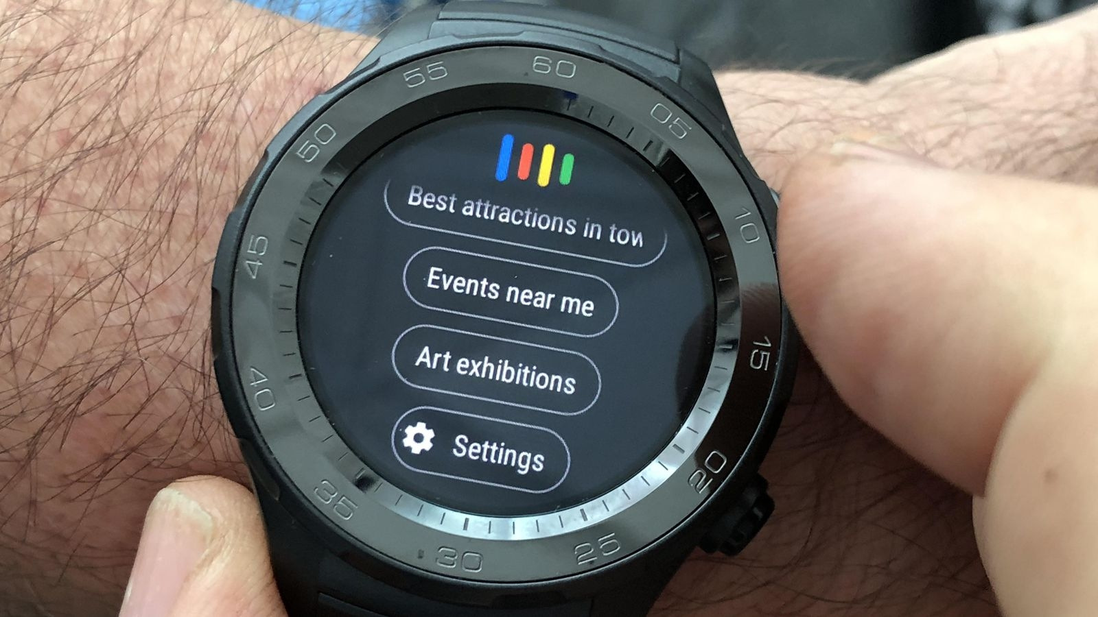 smartwatch com wear os