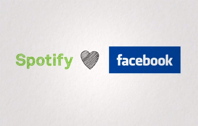 Spotify e facebook love