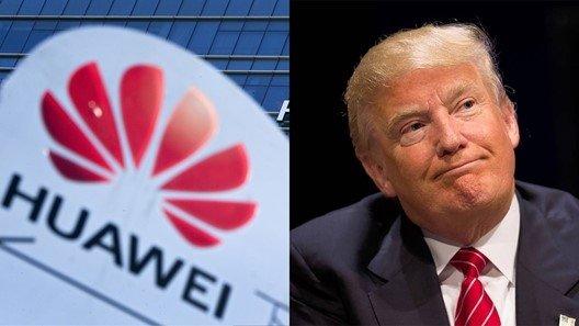 Huawei e donald trump