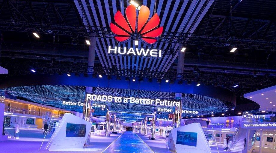 Huawei em evento