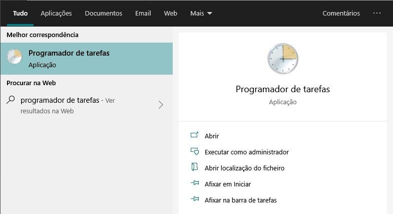 programador de tarefas