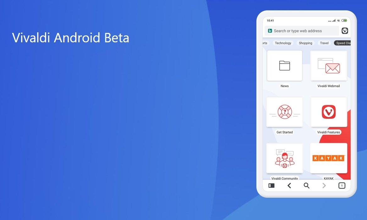 vivaldi para Android