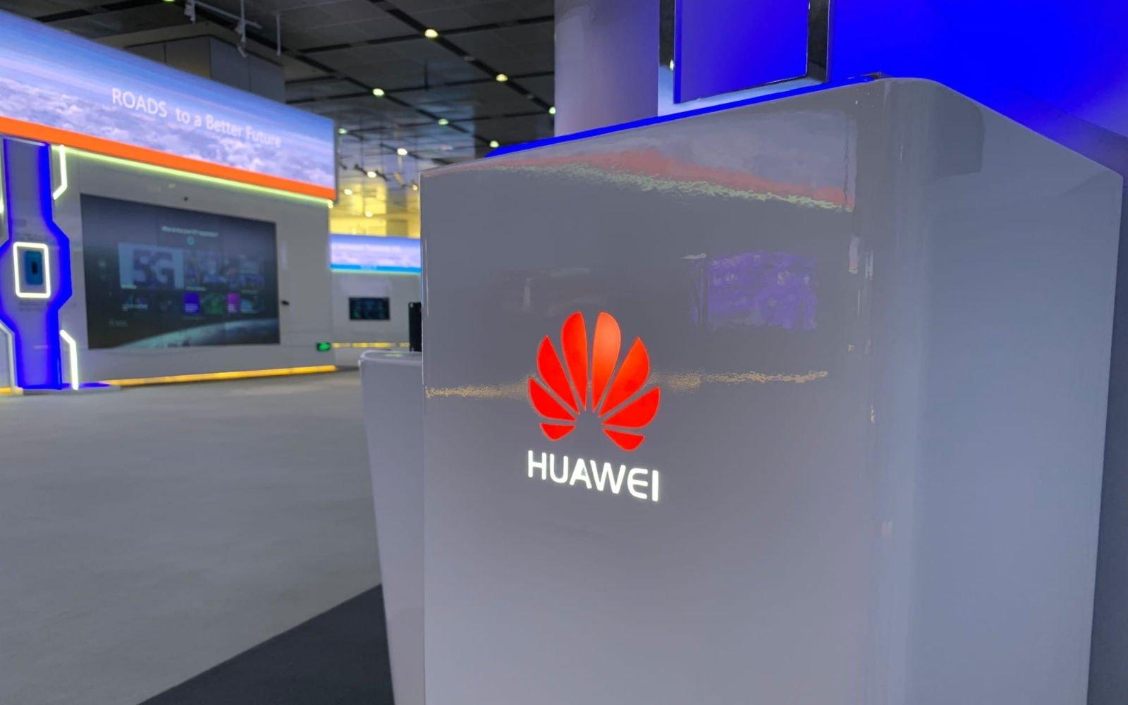 logo Huawei loja