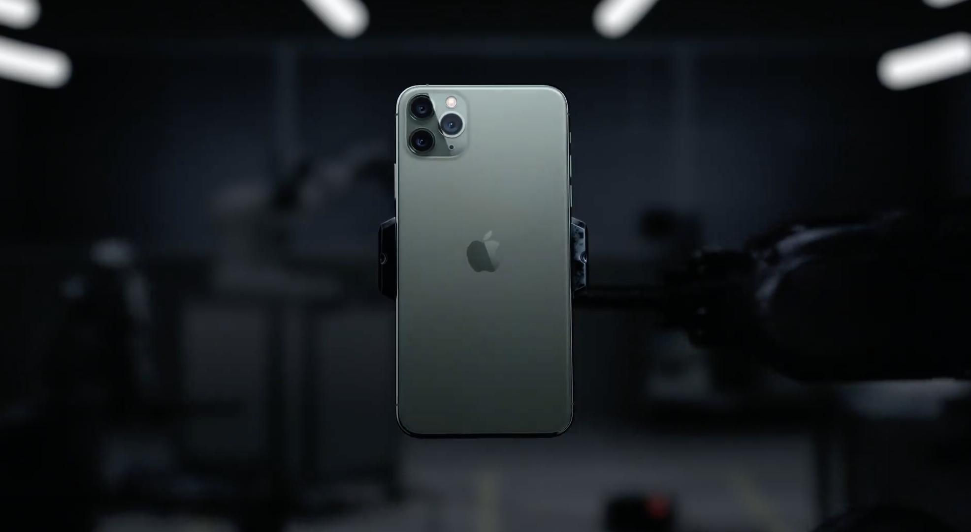 traseira da apple iphone 11 pro