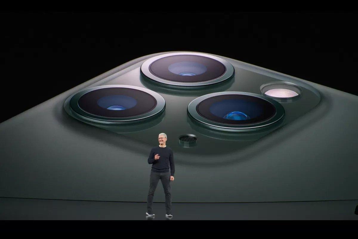 camaras dos novos iPhones