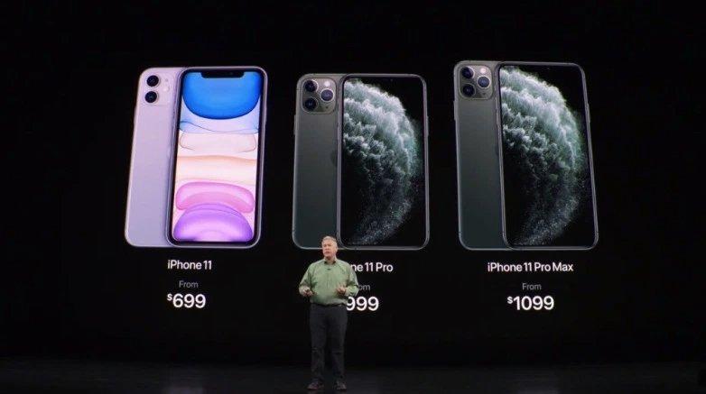 novos iphone apple