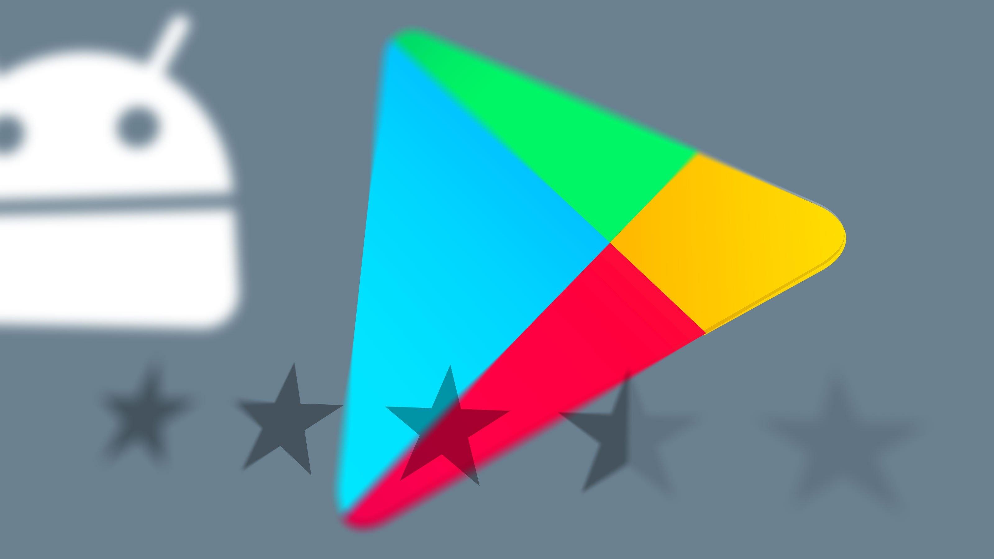Google play Store avaliação