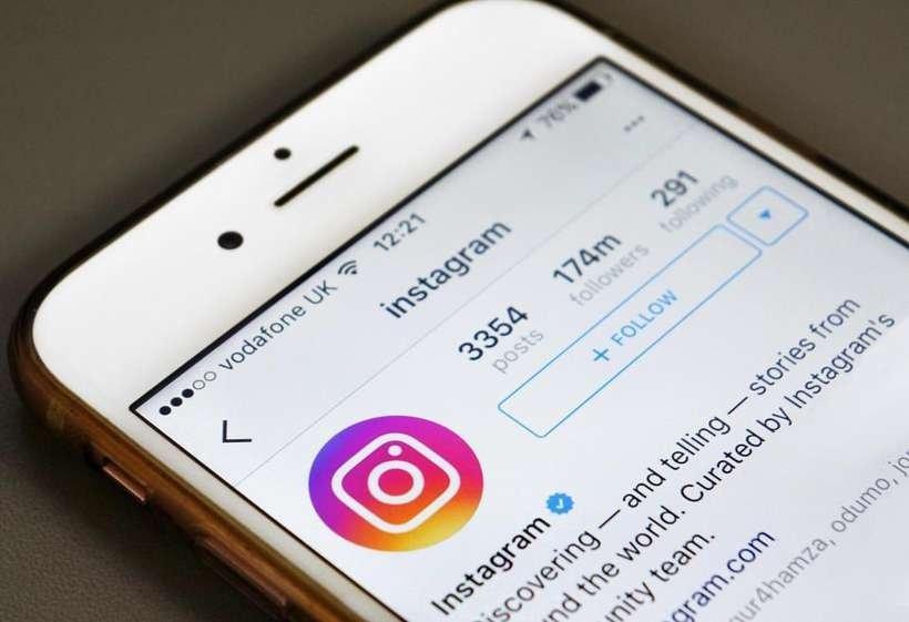 Instagram em iPhone