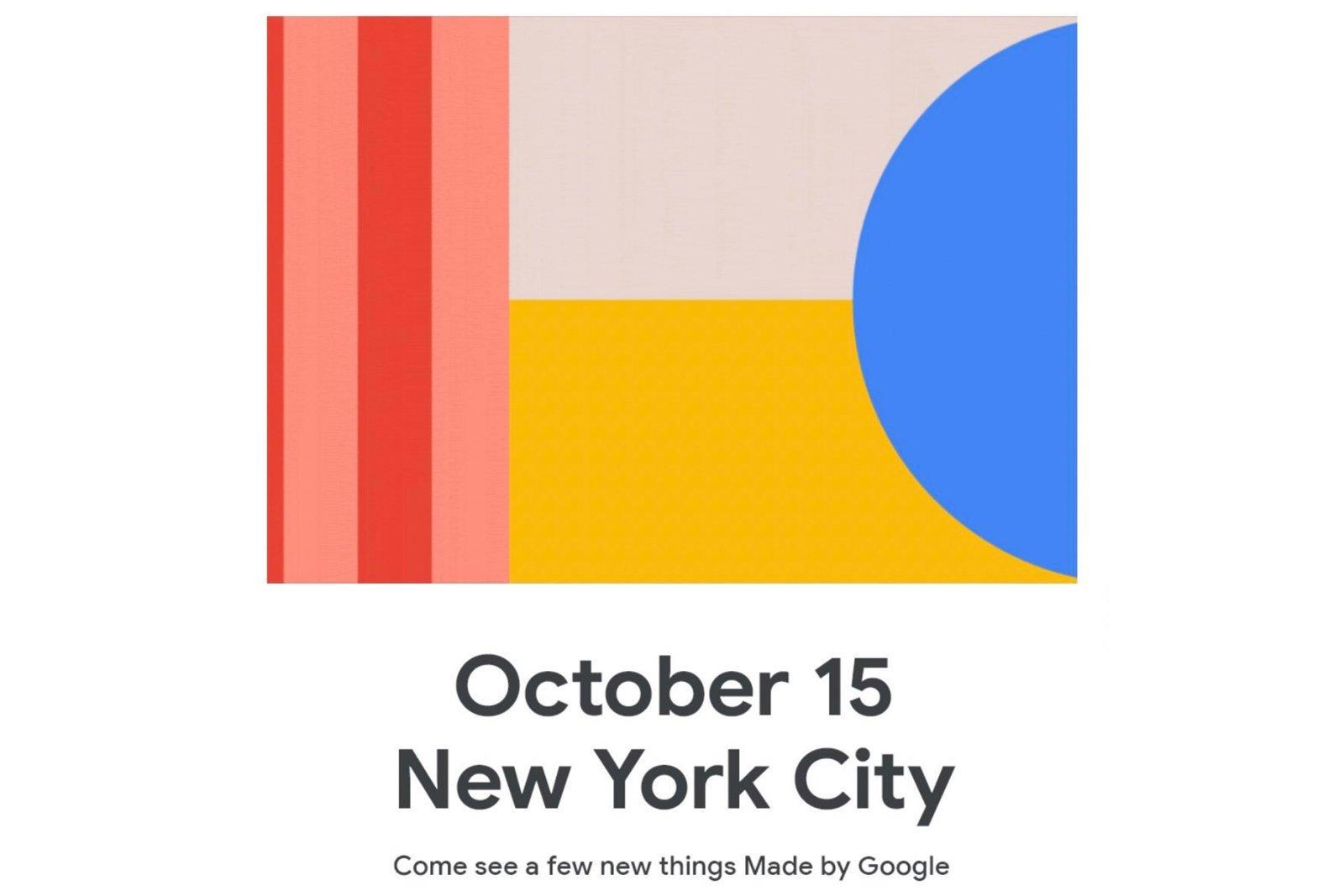 Google evento apresentação