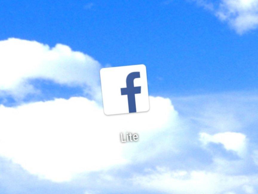 facebook lite app icone