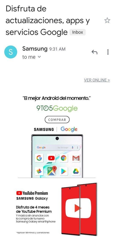 ataque samsung publicidade Huawei
