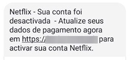 esquema Netflix sms