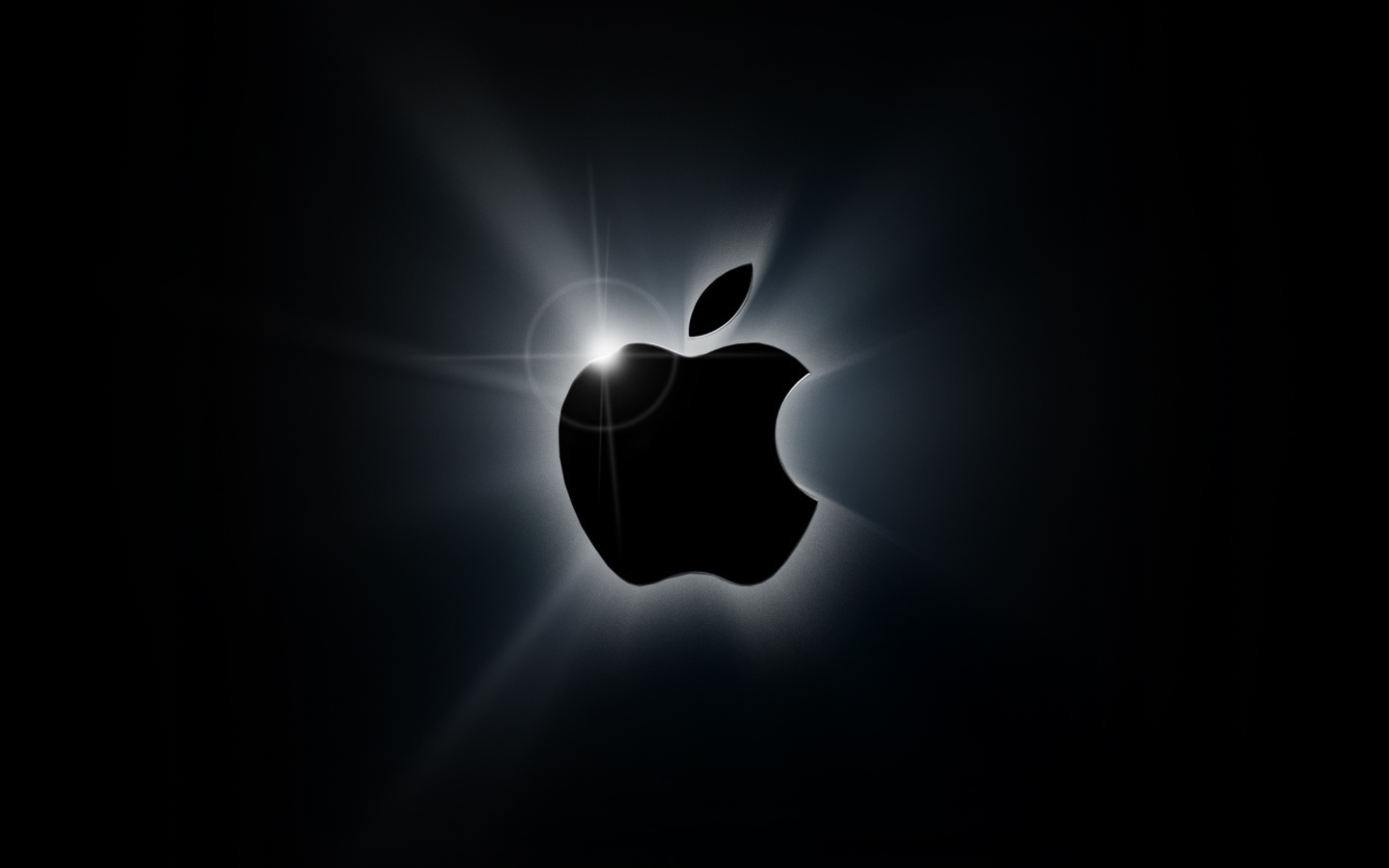 Apple logo iluminado