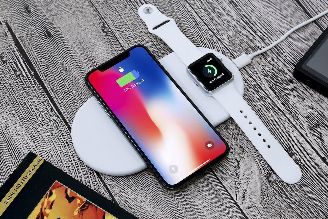 Apple iphone carregamento sem fios